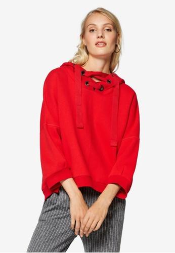 ESPRIT red Long Sleeve Sweatshirt 471C8AAD888541GS_1