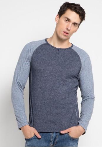 Cressida blue Raglan With Aksen Stitching Fashion CR235AA0U62WID_1