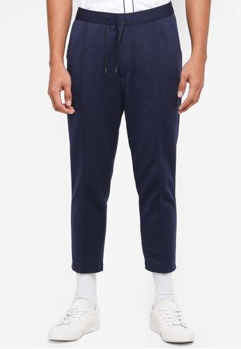 AT TWENTY navy Slim-Fit Tapered Sweatpants 3FC51AA8F1194DGS_1