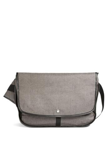 Skagen grey Skagen Mikael Grey Messenger Bag SMH0279044 D84CCAC3BB7A02GS_1