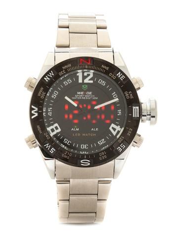 Weide black Analog Watch WH2310-1C WE088AC74KSJPH_1