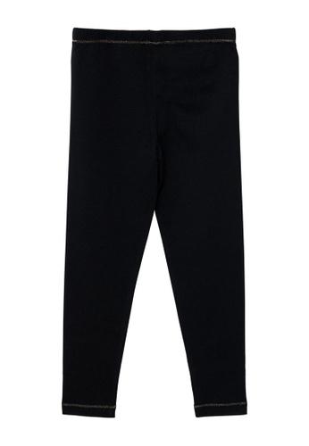 Du Pareil Au Même (DPAM) black Full Length Leggings BFE45KA011565EGS_1