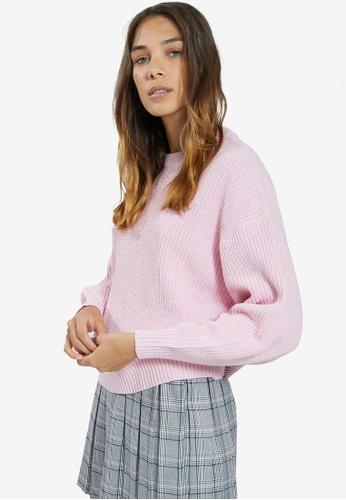PIMKIE pink Standard Sweater 8FA75AA08C6B66GS_1