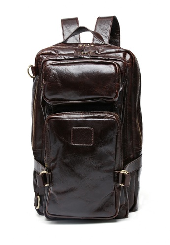 Twenty Eight Shoes Vintage Cow Leather Multi-Function Backpack 8856 82D35AC11F80C7GS_1