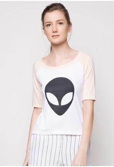 Alien Raglan Sleeve Top