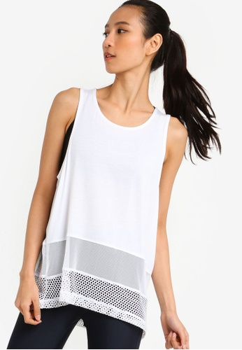 babdaec2bf90e3 Buy Cotton On Body Spliced Mesh Tank Top Online on ZALORA Singapore