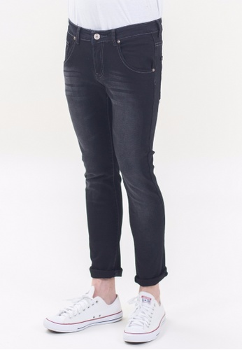 Drum Classic Slim Fit Jeans - BLK DR425AA87TOIMY_1