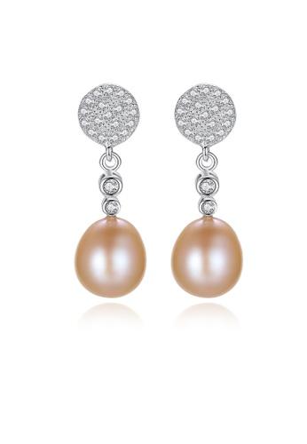 SUNRAIS silver High-grade colored stone silver fashion earrings BAF47AC9ED0AF6GS_1