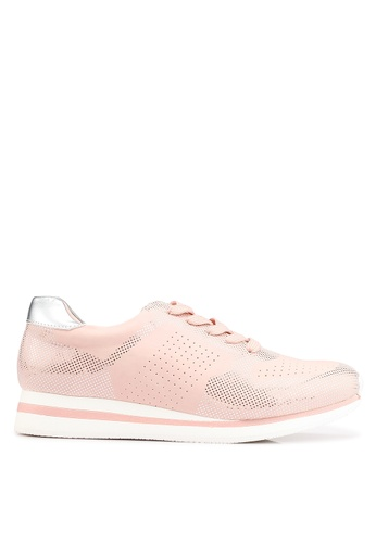 Keddo 粉紅色 雕紋運動鞋 6D018SH8B3BA9EGS_1