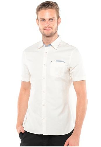 POLO HAUS white Polo Haus - Short Sleeve Shirt (White) PO783AA50BCFMY_1