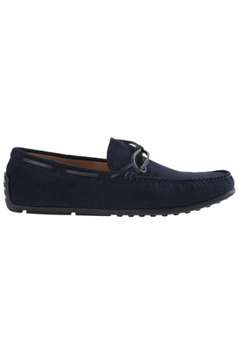 Tomaz blue Tomaz C309 Bow Loafers (Navy) 2C616SHAF64D4BGS_1