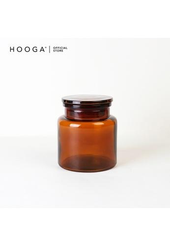 HOOGA brown Hooga Toiletries Cotton Bud Container Jax (Bundle of 2) 849C5HLB215C02GS_1