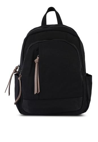 NUVEAU black Oxford Nylon Backpack 64721AC6143D00GS_1