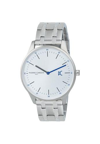 Pierre Cardin Watches silver Bastille City Mens Silver Metal Watch 42 mm 21697AC4DDCC65GS_1