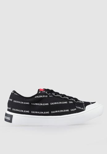 Calvin Klein 黑色 LOGO印花運動鞋 5DBBASH18BF51BGS_1