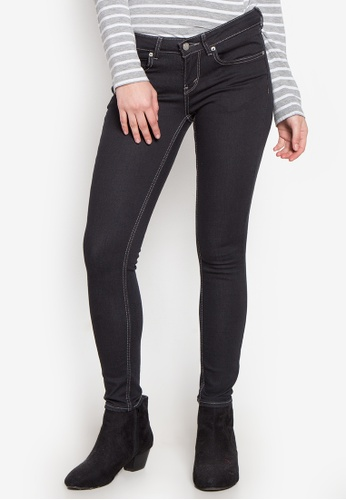 Stylistic Mr. Lee black Ladies Super Skinny (Low Rise) Pants With Overdye Black MR206AA0KEVAPH_1