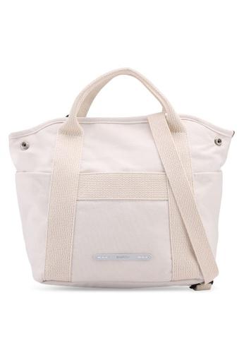 Rawrow white Wax 295 R Crossbody Cotna Bag 42C32AC4927649GS_1