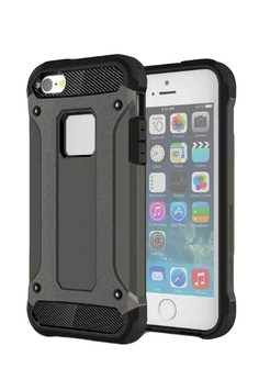 Dual Layer Tough Hybrid Case for Apple iPhone 5G / 5S