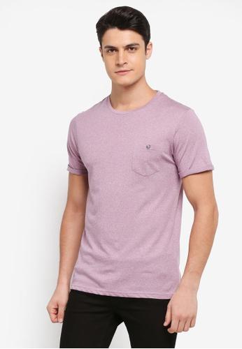 Burton Menswear London purple Purple Haze Grindle T-Shirt B49B4AA852F2ABGS_1