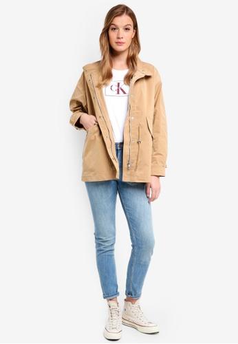 Calvin Klein multi Stand Collar Utlity - Calvin Klein Jeans 70FEFAA7DBE3BCGS_1