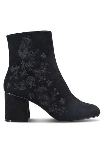 Dorothy Perkins black Black 'Aluna' Floral Boots DO816SH18CRTMY_1