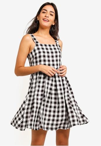 ZALORA multi Straps Mini Dress F51BBAA41602BEGS_1
