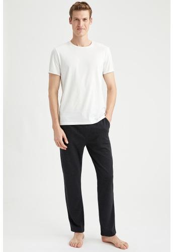 DeFacto grey Slim Fit Homewear Bottoms D29C4AA99648DEGS_1