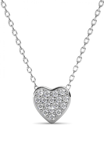 Her Jewellery white Her Jewellery Tri Darling Pendant with Necklace Chain with 18K Gold Plated 25025AC5CD67D0GS_1