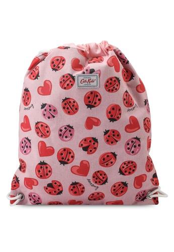 Cath Kidston pink Lovebugs Kids Drawstring Bag B7C2DKCE00995AGS_1