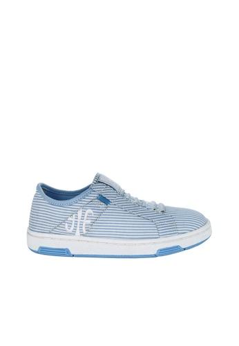Royal Elastics 白色 and 藍色 Icon Washed 休閒鞋 RO796SH099K1TW_1