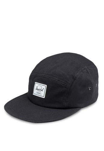 Herschel black Glendale Classic Cap HE114AC78KPLMY_1
