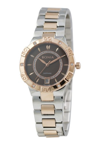 BONIA silver Jam Tangan Bonia Premium Jam Tangan Wanita BP10398-2642 Original BED15ACA5FAB17GS_1
