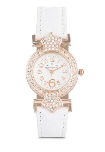 水晶仿皮圓錶, 錶類,esprit hk store 飾品配件