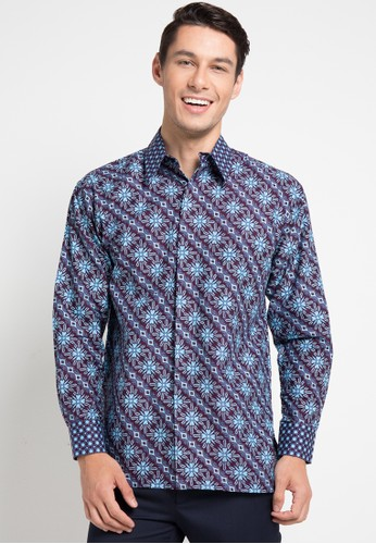 Batik Indra Loka purple Long Sleeve Kelir 07CFBAAE95175DGS_1