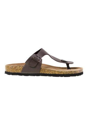 Tomaz brown Tomaz M21 Strap Sandal (Coffee) TO717SH66YRXMY_1