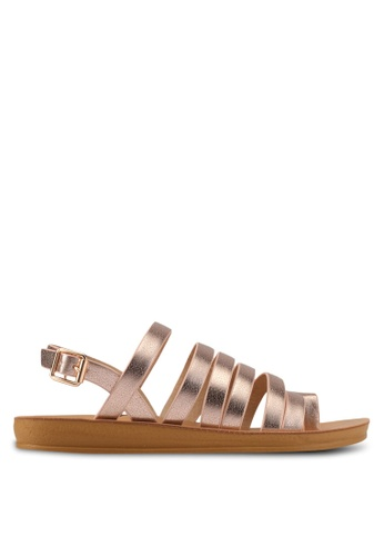 Noveni pink Multi-Straps Sandals NO978SH0S9RAMY_1