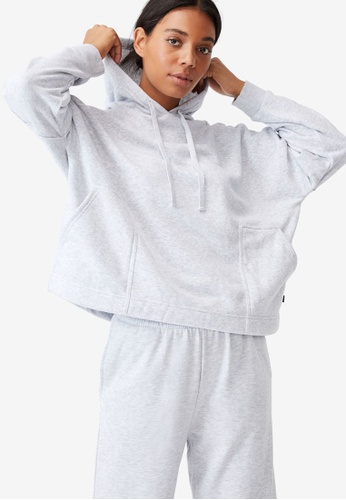 Cotton On Body grey Lifestyle Relaxed Hoodie 9C5D1AA8C1960CGS_1