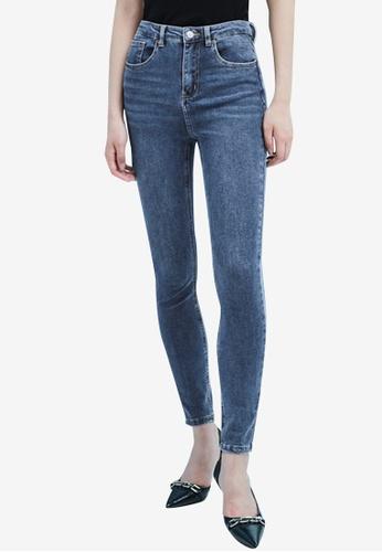 Urban Revivo blue Casual Jeans 4C4EEAA7675FEFGS_1