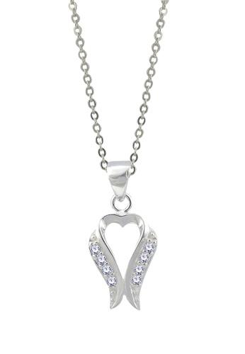 SC Tom Silver silver Heart Stone Pendant SC872AC71FGYPH_1