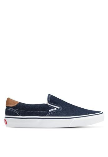 VANS blue Slip-On 59 Denim C&L VA142SH0SKVLMY_1