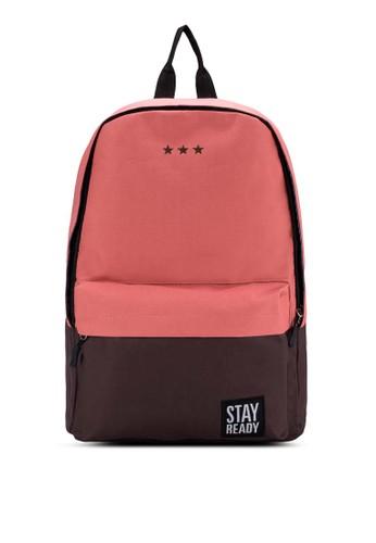 韓式色塊旅遊後背包, 包, 後esprit台灣網頁背包