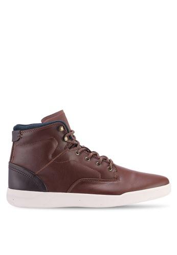 Topman brown Brown Ranger Boots 448BBSH5D3905BGS_1