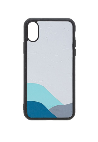 POROLUXE grey PHONE CASE FOR IPHONE X 5FE88AC05D0F1EGS_1