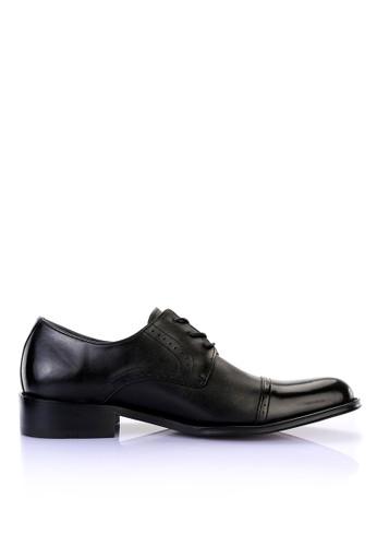 MIT頂級NAPPA牛esprit高雄門市皮。英式休閒皮鞋-男-04428-黑色, 鞋, 皮鞋