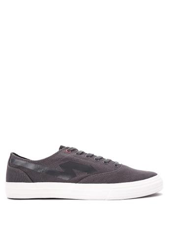 Sonnix grey Men's Lace up Sneaker Shoes SO490SH0K3NLPH_1