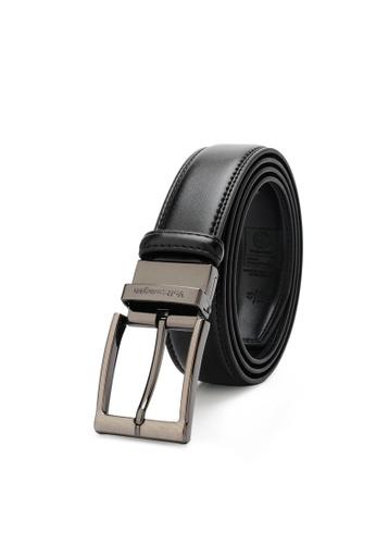 Volkswagen black Men's Belt - 35mm Reversible Belt 434F1ACDA4DC63GS_1