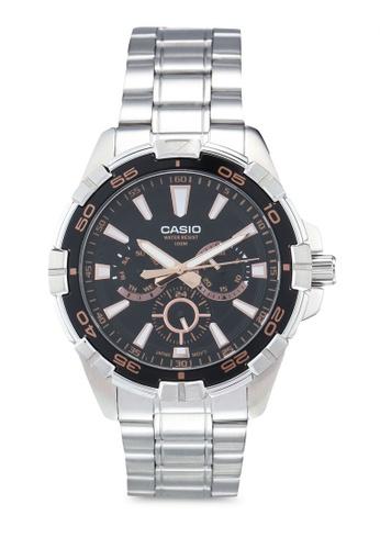 Casio silver Casio MTD-1069D-1A3VDF Watch 178D3ACACF8EE5GS_1