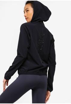 f7c9695ea72 Calvin Klein black HD Wind Jacket With Back Logo - Calvin Klein Performance  F18B3AAAD22B92GS 1