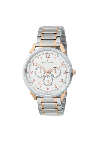 Pierre Cardin Watches silver Pigalle Motion Mens Silver Metal Watch 42 mm 9D488AC3701170GS_1