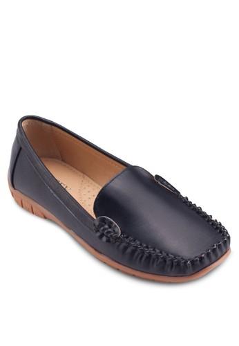 經典方頭esprit mongkok樂福鞋, 女鞋, 鞋